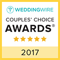 Wedding Wire Logo Couples' Choice Awards 2017