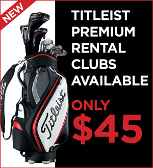 Graphic for Totleist Premium Rental Clubs Available for only $45