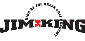 Jim King Logo - King of the Green Golf Academy